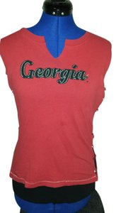 League Georgia Bulldogs Medium 20percentoff T Shirt Red/Black