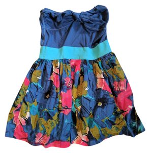 Abercrombie & Fitch short dress Blue multi on Tradesy