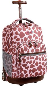 J World New York Carry On Recessed Handle Locking Fashion Backpack