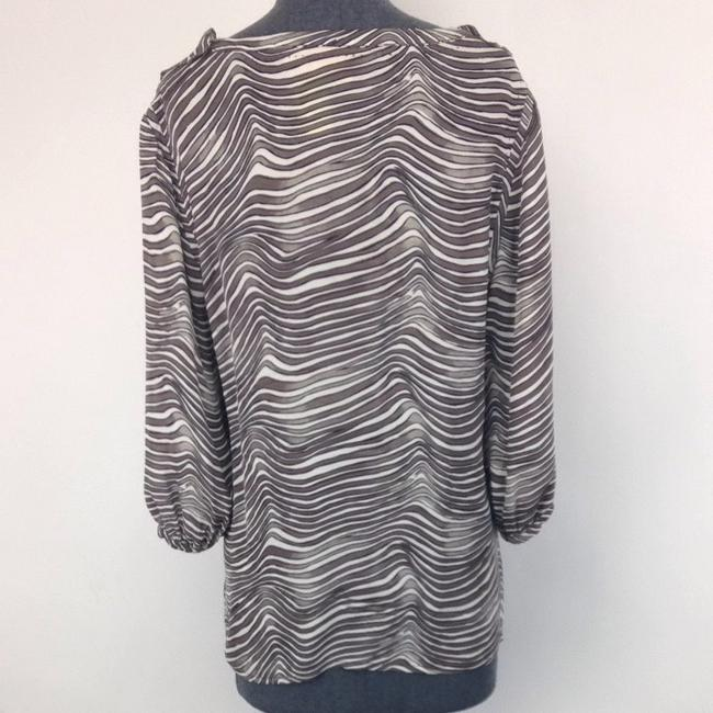 Tory Burch Top Grey And White