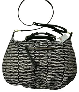 Steven by Steve Madden Hobo Tribal Zip Cross Body Bag