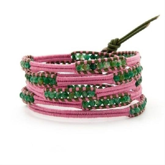 Preload https://img-static.tradesy.com/item/21245561/chan-luu-green-pink-new-breast-cancer-awareness-indian-aventurine-five-wrap-bracelet-0-0-540-540.jpg