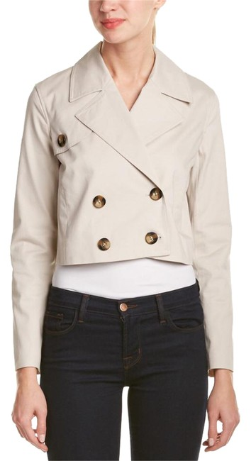 Preload https://img-static.tradesy.com/item/21245635/laundry-by-shelli-segal-khaki-beige-cropped-trench-spring-jacket-size-8-m-0-1-650-650.jpg