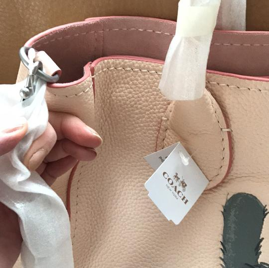 Coach Satchel in pale pink