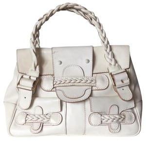 Valentino Satchel in ivory
