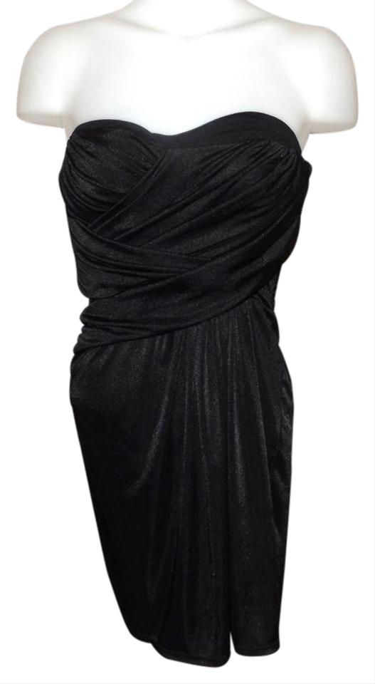 9027206f0ad Express Black Strapless Mid-length Night Out Dress Size 2 (XS) - Tradesy