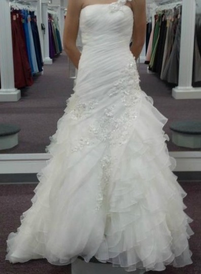 Mary 39 s bridal c7850 wedding dress on sale 53 off for Places to donate wedding dresses
