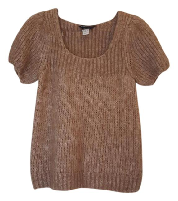 Preload https://img-static.tradesy.com/item/21245894/bcbgmaxazria-light-brown-bcbg-alpaca-sweaterpullover-size-12-l-0-1-650-650.jpg