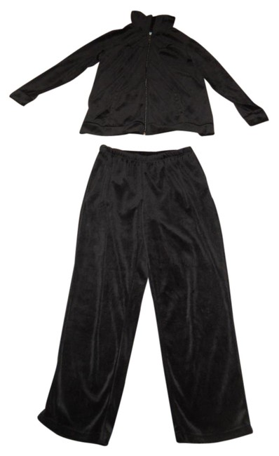Preload https://img-static.tradesy.com/item/21245903/ashy-black-wonderful-condition-pant-suit-size-petite-8-m-0-1-650-650.jpg