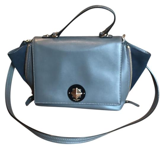 Preload https://img-static.tradesy.com/item/21245985/kate-spade-expandable-gray-leather-satchel-0-1-540-540.jpg