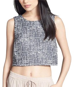 Joie Crop Mintelle Top Black/White