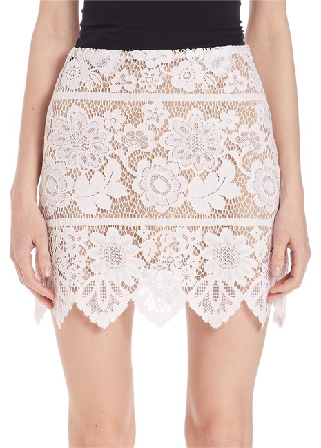 Preload https://img-static.tradesy.com/item/21246122/for-love-and-lemons-white-and-nude-gianna-pencil-miniskirt-size-12-l-32-33-0-1-650-650.jpg