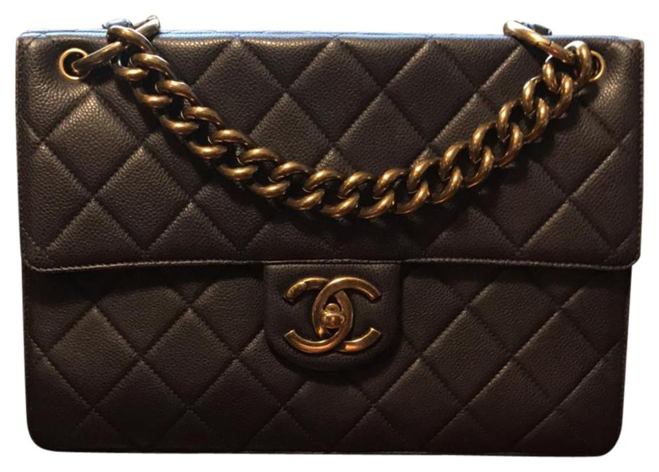 caa31a66c27a01 Chanel Retro Classic Dark Navy ( Such A Dark Navy That It Looks ...