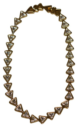 Preload https://img-static.tradesy.com/item/21246254/swarovski-gold-triangle-link-crystal-choker-necklace-0-1-540-540.jpg
