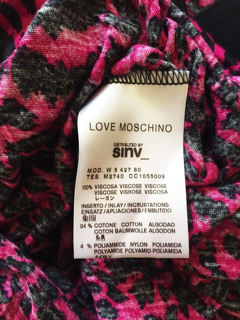 Moschino short dress Pink Love Cocktail Work Day on Tradesy