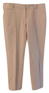 White House | Black Market Capri/Cropped Pants tan/khaki