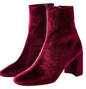 Jeffrey Campbell Wine Boots