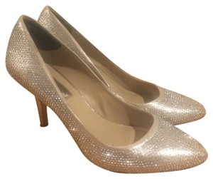 INC International Concepts pearl gold Pumps
