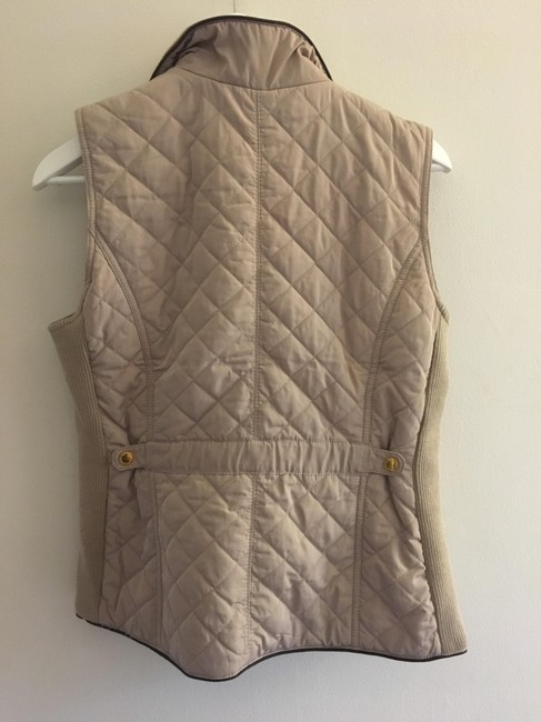 Cambridge Dry Goods Quilted Gold Hardware Vest