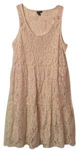 American Eagle Outfitters short dress Cream on Tradesy