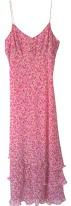 Ann Taylor short dress Pink Silk Size 4 Summer on Tradesy