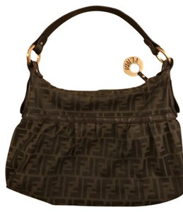 Fendi Zucca Handbag Shoulder Bag