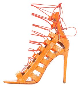 Aquazzura Orange Sandals