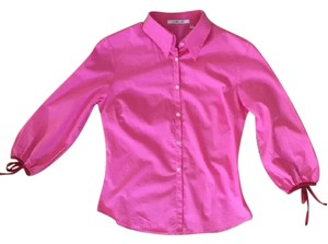 L.K. Bennett Shirt Bennet Princess Kate Bennett Pink Top Pink/Red