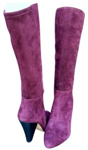Vince Camuto Wine Suede Boots