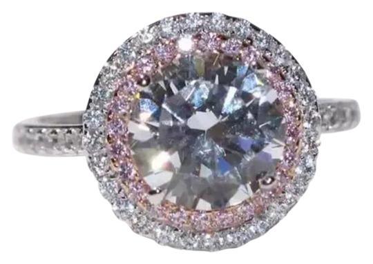 Preload https://img-static.tradesy.com/item/21246962/pink-and-silver-new-size-4-shape-ring-0-1-540-540.jpg
