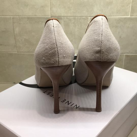 Nine West soft Buf Platforms