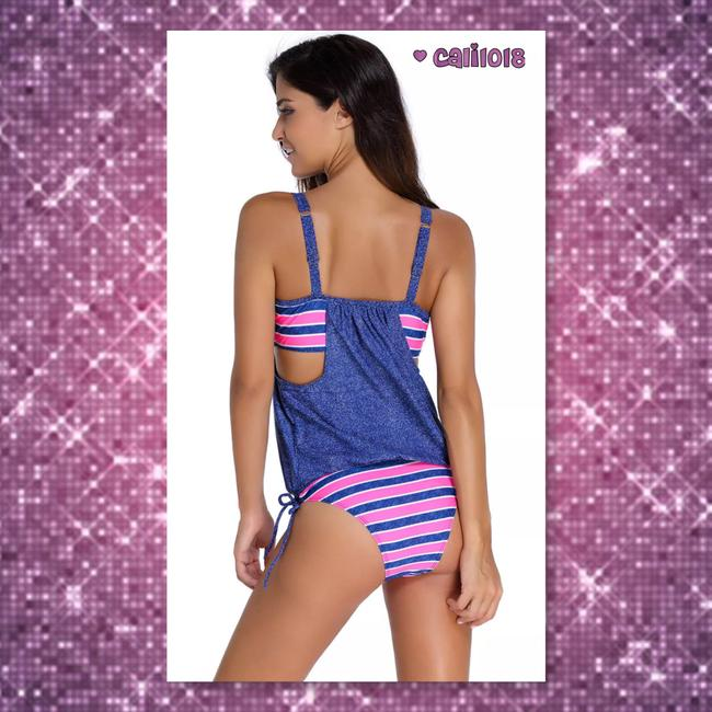 Other New 2pc Striped Full Coverage Swimsuit