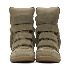 Isabel Marant Green Taupe Athletic