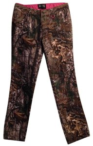 Realtree Size 6 Cotton Made In China Relaxed Pants Realtree Camo pattern Women's jeans