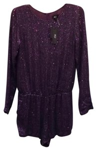MLV Longsleeve Scoop Neck Cinched Waist Sequin Dress