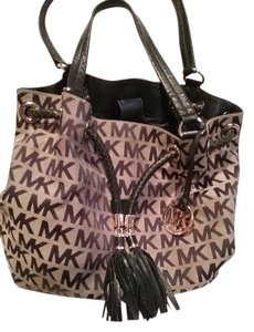 Michael Kors Tote in Tan and Black