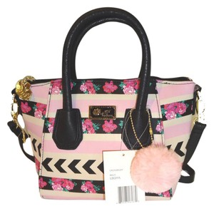 Betsey Johnson Luv Betsey Small Satchel Cross Body Bag