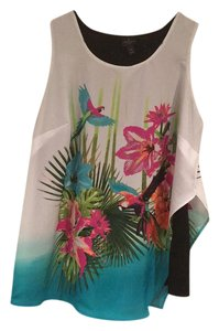 Worthington Woman Flowy Colorful Plus-size Casual Top