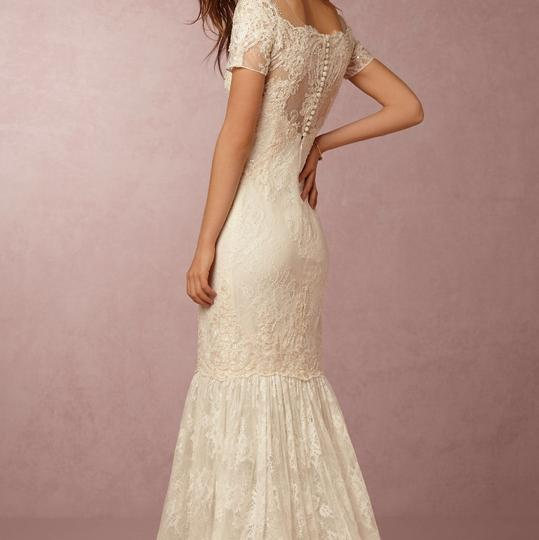 BHLDN Ivory Lace Ephra Marchesa Notte Formal Wedding Dress Size 0 (XS) Image 1