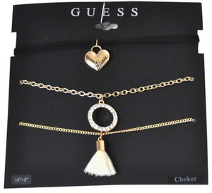 Guess Guess Choker Set of 3 Necklaces
