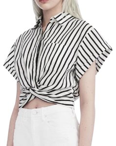 T by Alexander Wang Top black & white