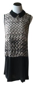 Marc by Marc Jacobs short dress Rosewood Multi 100% Silk Isa Print A-line Black on Tradesy