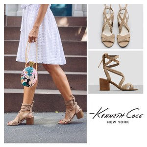 Kenneth Cole Beige Sandals