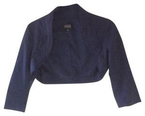 Adrianna Papell Top Navy Blue