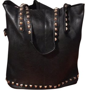Urban Outfitters Tote in Black with gold studs