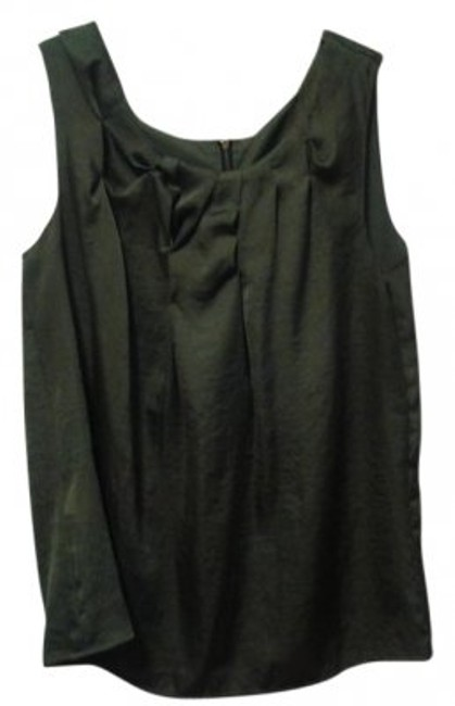 Preload https://item4.tradesy.com/images/ann-taylor-loft-army-green-ruched-dressy-tank-topcami-size-12-l-21248-0-0.jpg?width=400&height=650