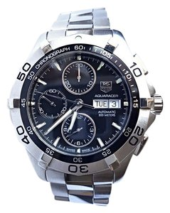 TAG Heuer PERFECT CONDITION Tag Heuer Aquaracer 2000 Chronograph CAF2010 BA0815