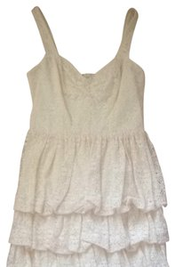 Guess short dress Cream on Tradesy
