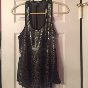 Forever 21 Top Silver