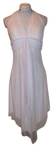 Studio Y short dress white Marilyn Monroe Halter Lace Women's on Tradesy
